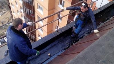 Ремонт крыши дома в Москве